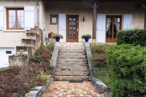 Escalier extérieur(Prissé)Avant Travaux