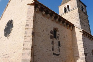 Façade Eglise(Milly-Lamartine)Après Travaux