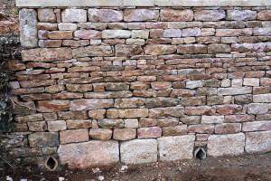 Mur de soutènement en pierres sèches(Solutré)Après Travaux