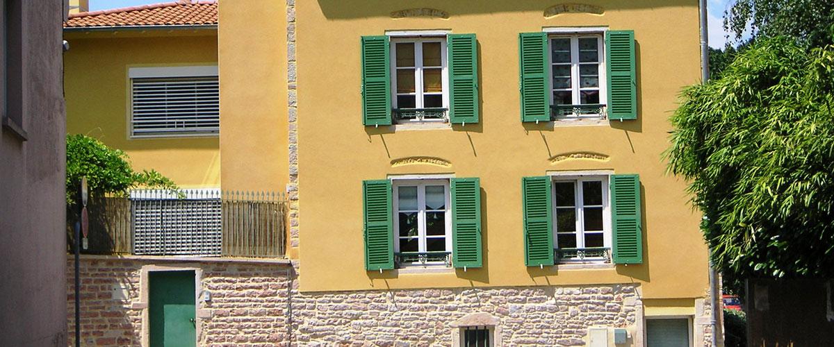 Enduits et joints de facades